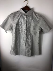 26c43f8b THE OUTFITTERS by Lands End Button Down Shirt Size M Women's short ...
