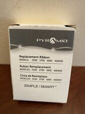 Pyramid 4000r Genuine Replacement Ribbon For 3500 3700 4000 4000hd Time Cl
