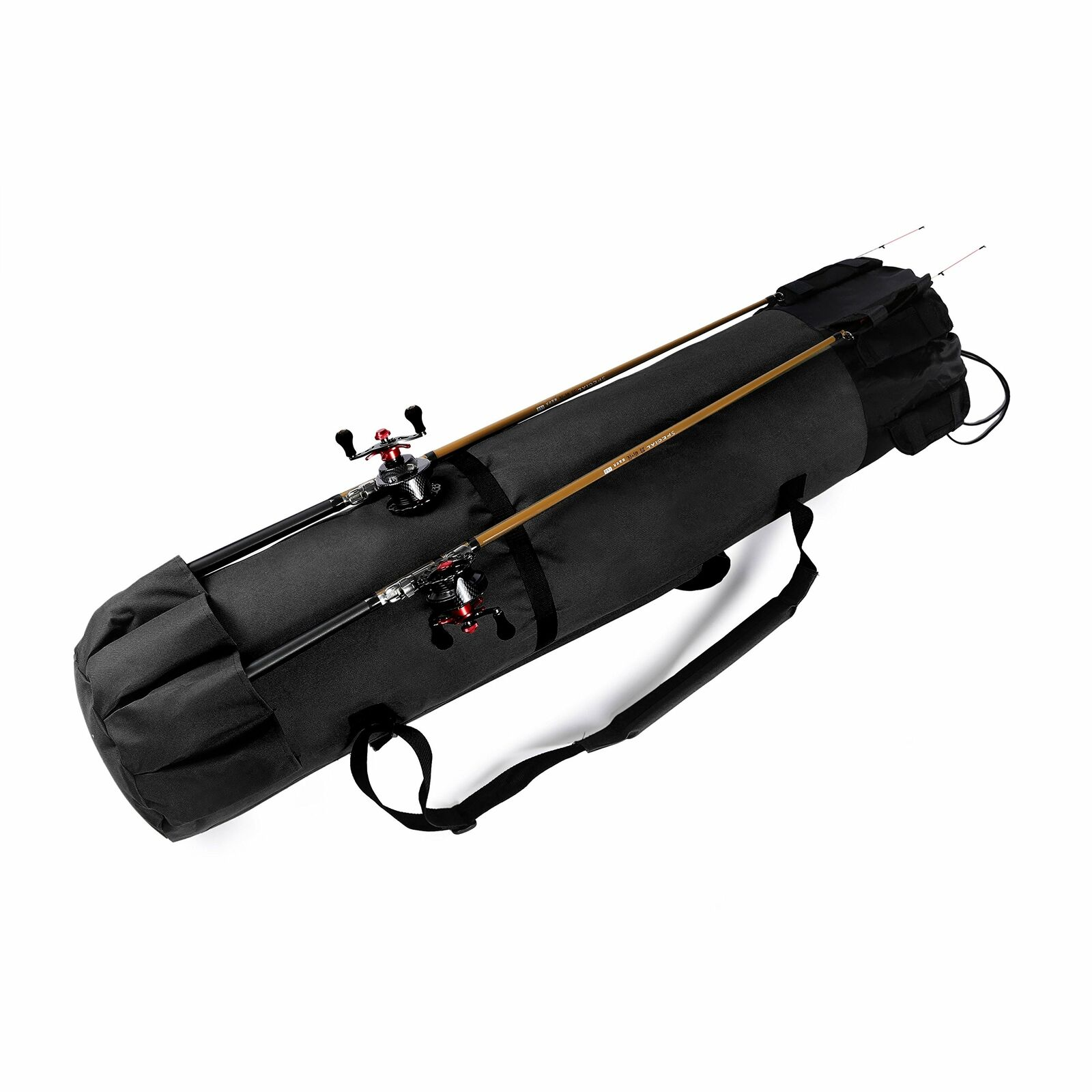 Wowelife Fishing Rod Carrier Fishing Reel Organizer Pole Storage Bag for Fish...