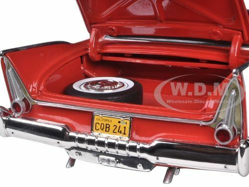 1958 PLYMOUTH PLYMOUTH PLYMOUTH FURY CHRISTINE NIGHT VERSION RED 1 18 BY AUTOWORLD AWSS102 4bdc0d