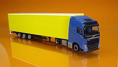 1//87 Herpa Volvo FH GL Lowliner Gardinenplanen-Sattelzug 307369