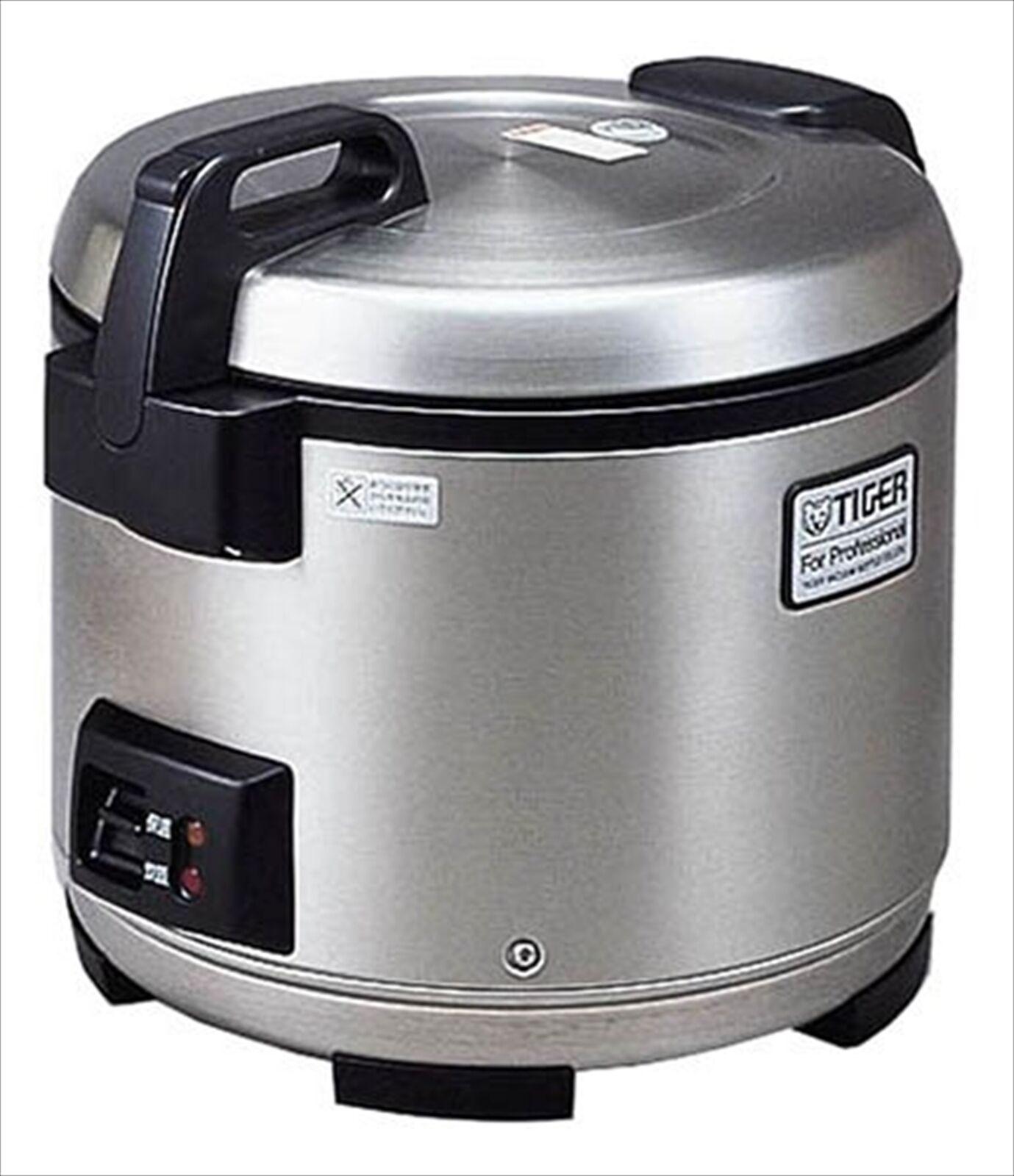 Tiger Riz Cuisinière deux boisseau Inoxydable Cuit riz cuisinière JNO-A360-XS AC 100 V
