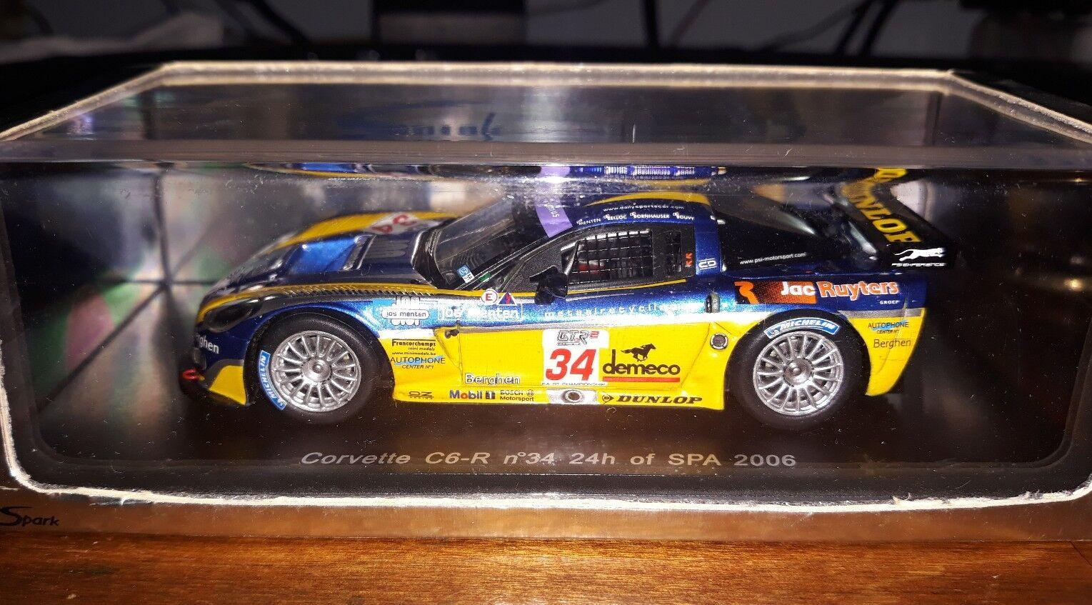 Spark 1 43 Corvette C6R  34 24 hours of Spa 2006 S0177