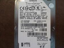 """Hitachi HTS541040G9AT00 PN:0A25382 MLC:DA1230 40gb IDE/ATA 2.5"""" Hard Drive"""