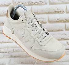 Nike Internacionalista PRM Beige Cuero Real para Mujer Zapatillas Zapatillas 7.5 Reino Unido 42