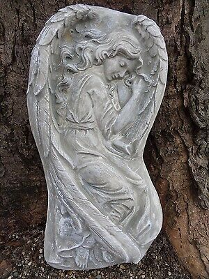 """Angel Poly Plastic concrete plaster mold mould 15/"""" x 7.75/"""" x 1.75/"""" thick"""