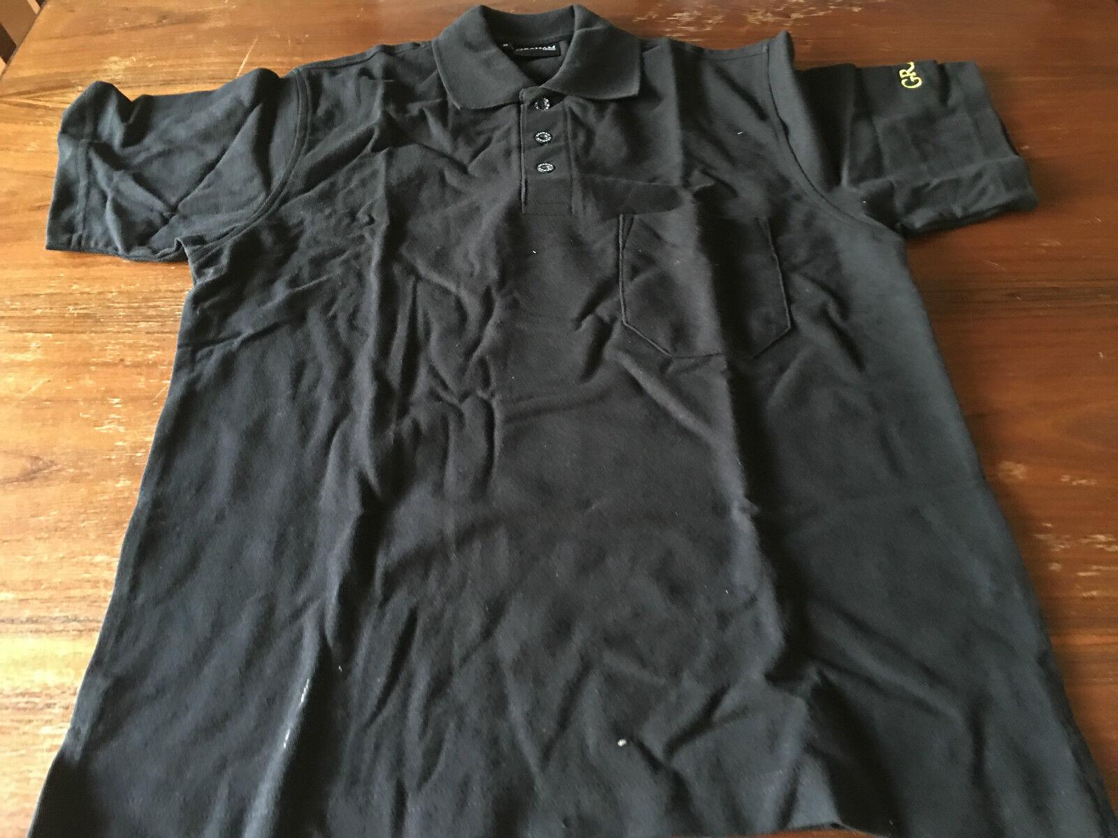 Nouveau - T-shirt GRAHAM Polo - Taille M - Noir couleur noir - Nouveau