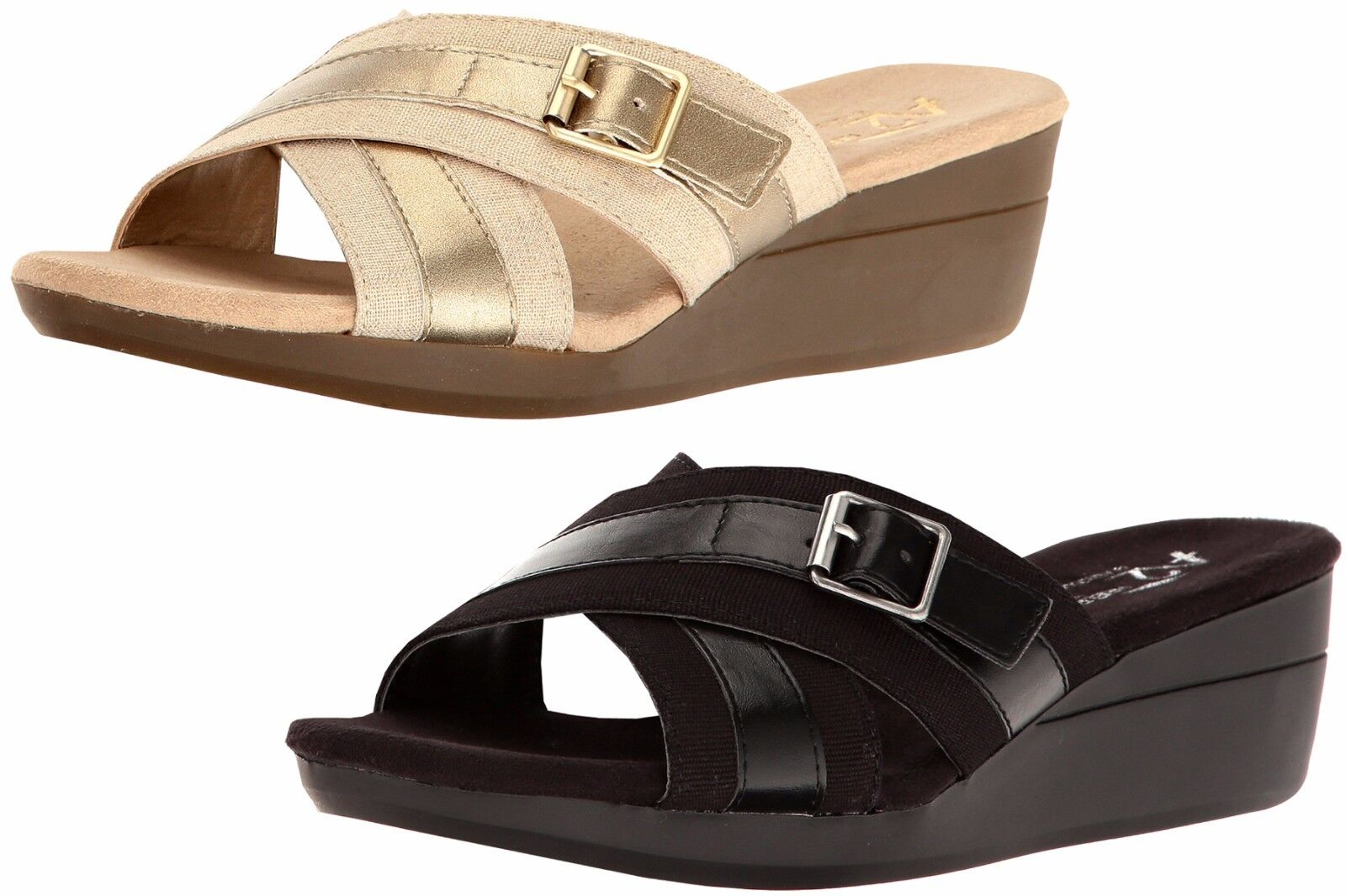 NAOT Womens 10 10 Womens / 41 Metallic Strappy Leather Sandals Jewel Open Toe Slides qi9 19428e