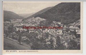 91483 Angemessen Ak Bad Wildbad Blick Vom Panoramahotel 1933 Fein Verarbeitet