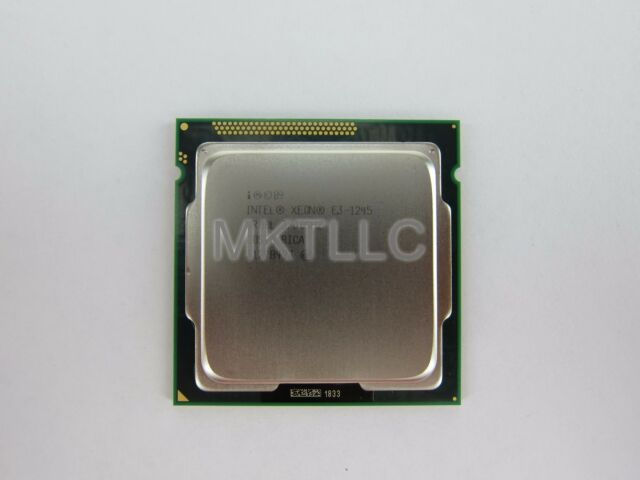 Intel Xeon E3-1245 SR00L 3.30GHz Quad-Core CPU Processor Tested