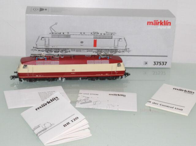 Märklin Spur H0 37537 E-Lok BR 120 der DB Digital+Sound+OVP (JL7882)