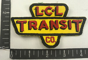 Vtg (Ver A) NOS Green Bay WI LCL L C L TRANSIT CO. Trucker / Trucking Patch 00SF