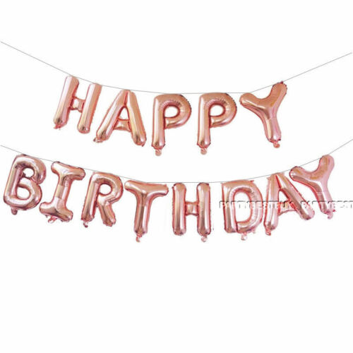 HAPPY BIRTHDAY foil balloons set 16inc birthday decoration beautiful colours