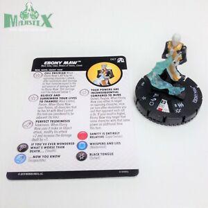 Heroclix-Avengers-Black-Panther-amp-Illuminati-set-Ebony-Maw-067-Super-Rare-fig