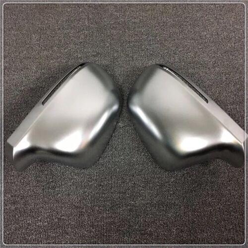 Pour Audi Q3 Matt Chrome Wing Mirror Covers OEM-fit
