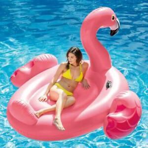 Isola-gonfiabile-Grande-Fenicottero-Intex-56288-giochi-cavalcabili-piscina