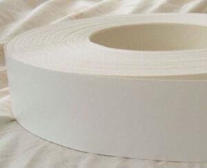 White Melamine Pre Glued Iron On Edging Tape Edge Banding