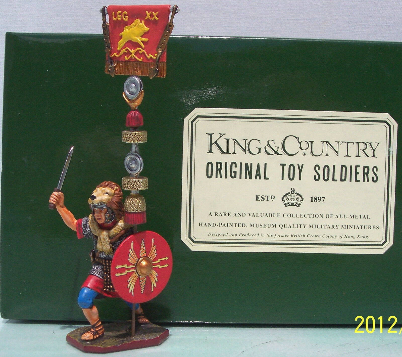 King & Land Roman Empire RO20-RE Figthing Aquilifer mit Flagge MIB