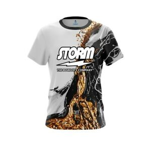 CoolWick Storm Marble Purple Bowling Jersey