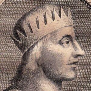 Portrait-XVIIIe-Egbert-de-Wessex-Roi-d-Angleterre-Ecgberht-King-Wessex-Ellendune