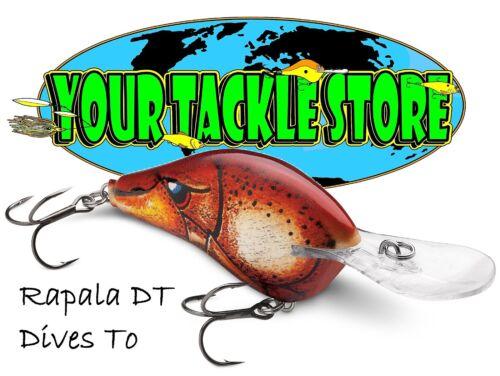 Rapala DT10 Dives To Pick Color/&Qty Factory Direct HD Live Escape Craw Iaconelli