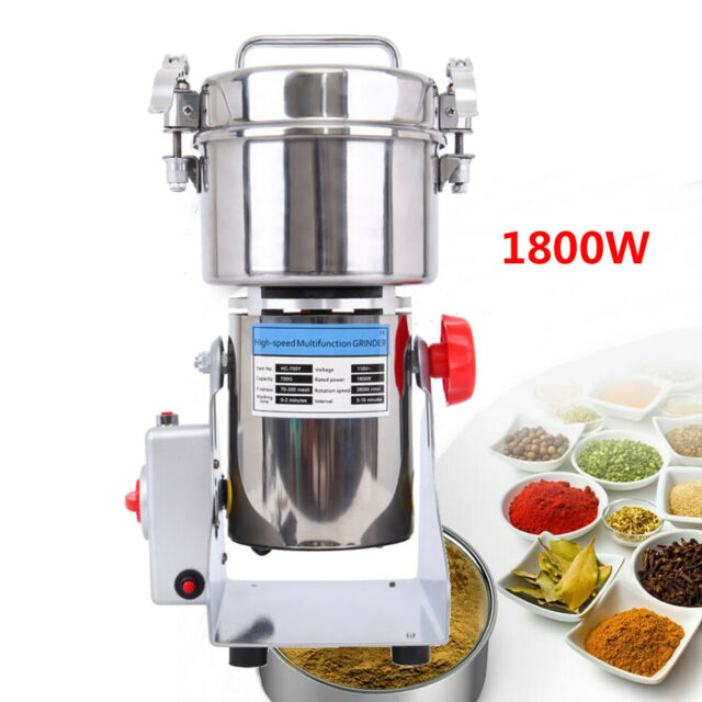 700g Electric Herb Grain Cereal Mill Grinder High Speed Powder ...