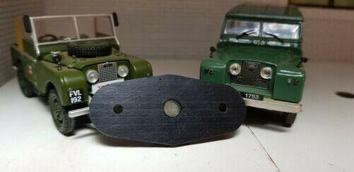 FW2 Lucas wiper motor seal escutcheon x2 outer 2 Land Rover Series 1 2A