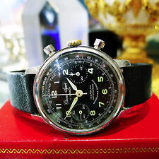 Chrono Sport 1960s Vintage 17 Jewel Stainless Steel Chronograph Watch Ref M5 289