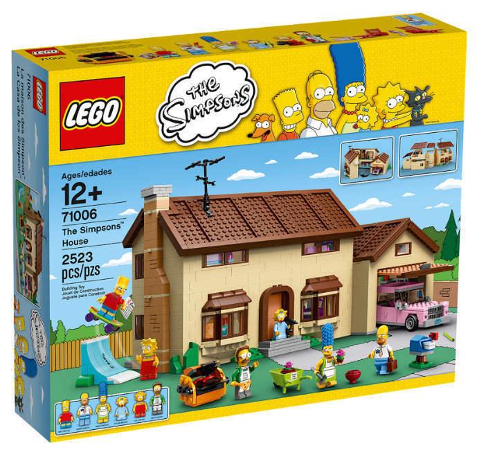 LEGO ® 71006-Le Simpsons Maison ™ NOUVEAU NOUVEAU NOUVEAU & NEUF dans sa boîte Homer Marge Bart Lisa Maggie Flanders 3c753e