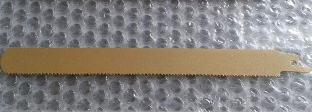 Sägeblatt 210mm für Holz mit Nägeln Tigersäge elektr. Fuchsschwanz runde Spitze
