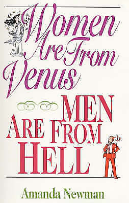 Women are from Venus, Men are from Hell, Newman, Amanda, Very Good Book