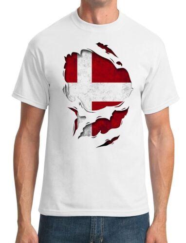 EU European Ripped Effect Under Shirt Mens T-Shirt