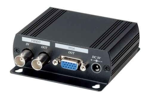 Hi Resolution Video to VGA Converter with BNC loop out AD001H