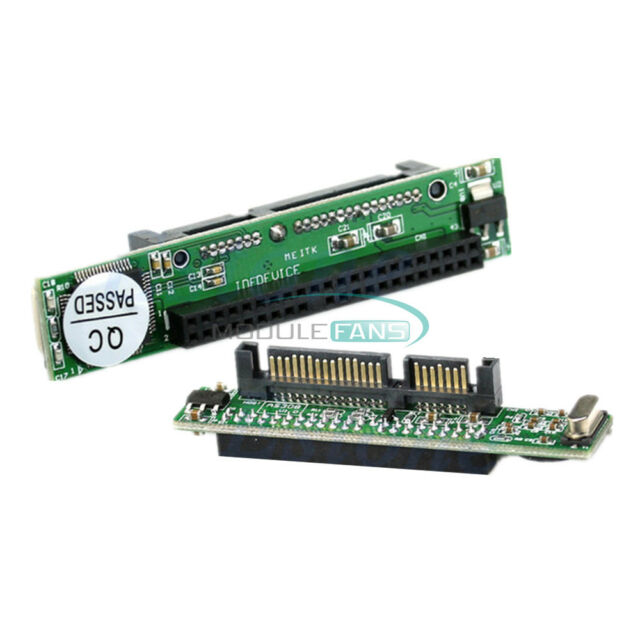 "2.5"" IDE HDD 44Pin Drive Female to 7+15pin Male SATA Adapter Converter Card"