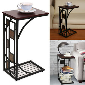 2018 C Shaped Side Sofa Snack Table Coffee Tray End Table Living