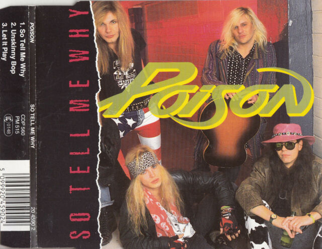 POISON So Tell Me Why CD Single