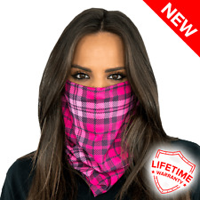 Salt Armour SA Face Shield (Pink Plaid Pattern) - New in package