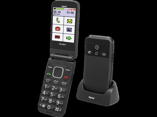 TIPTEL 6370 Pro Handy, Schwarz
