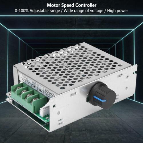 12V-50V 1500W 30A DC Motor Speed Controller PWM Drehzahlregler mit Gehäuse 21KHz
