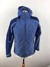 Vintage Patagonia Womens Hooded Waterproof Jacket Coat Small S Blue
