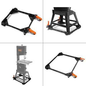 WEN Universal Mobile Base Rolling Wheel Heavy Duty 500 lbs Capacity Tool Machine