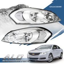 Fit For Chevy 06 13 Impala06 07 Monte Carlo Clear Chrome Headlights Replacement Fits 2006 Impala