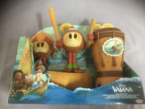 Disney Vaiana - Kokomora Schlagzeugset - Moana Kakamora Playset - Jakks
