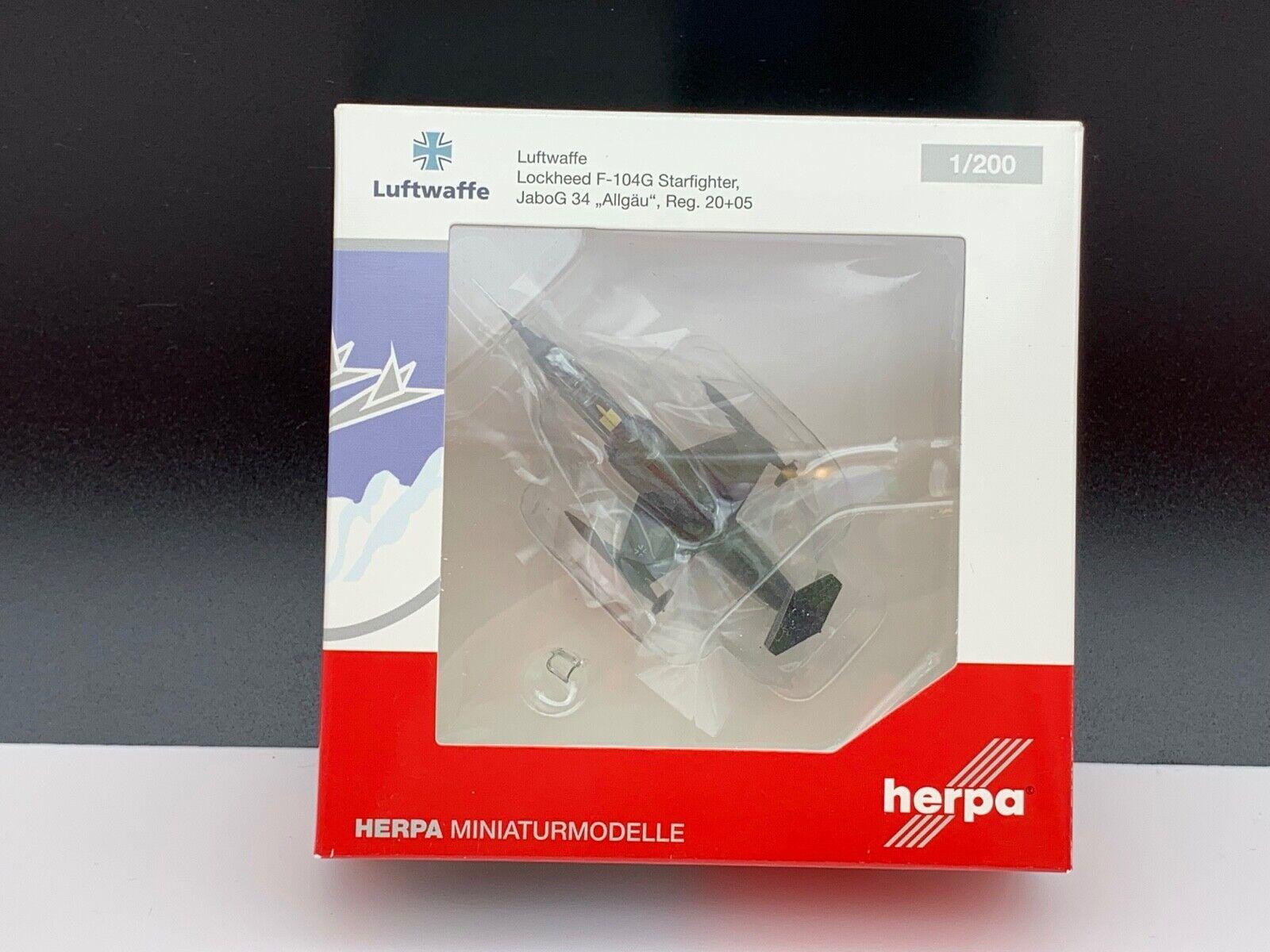 Herpa avión 555678 modelos en miniatura avión 1 200. nunca deshacer las maletas. top