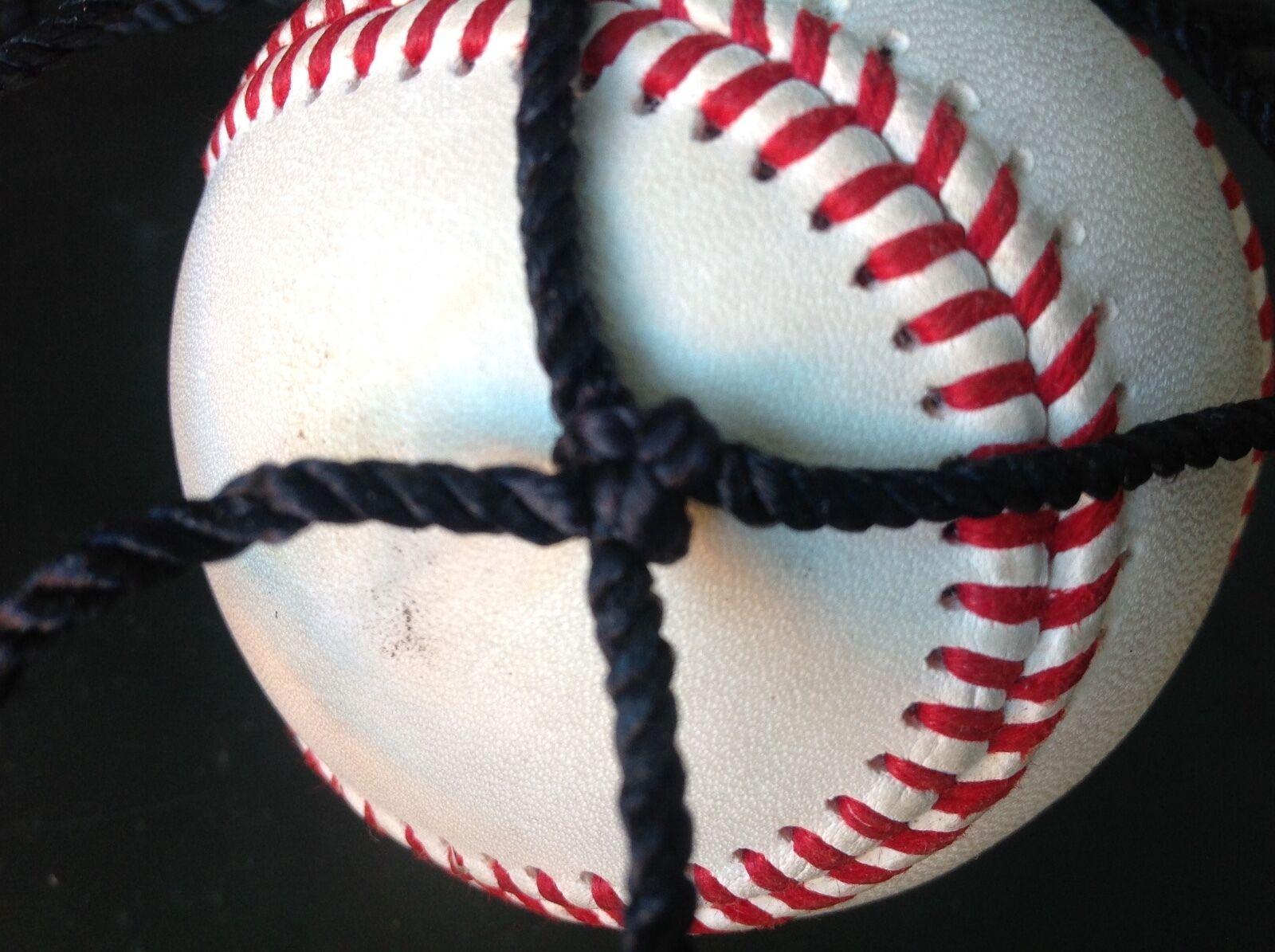Baseball netting panel 6 X 18 ft. barrier nylon knotted net square mesh new