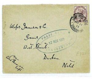 GB-Used-SOUTH-AFRICA-Natal-Boer-War-Standerton-samwells-covers-1901-CW4