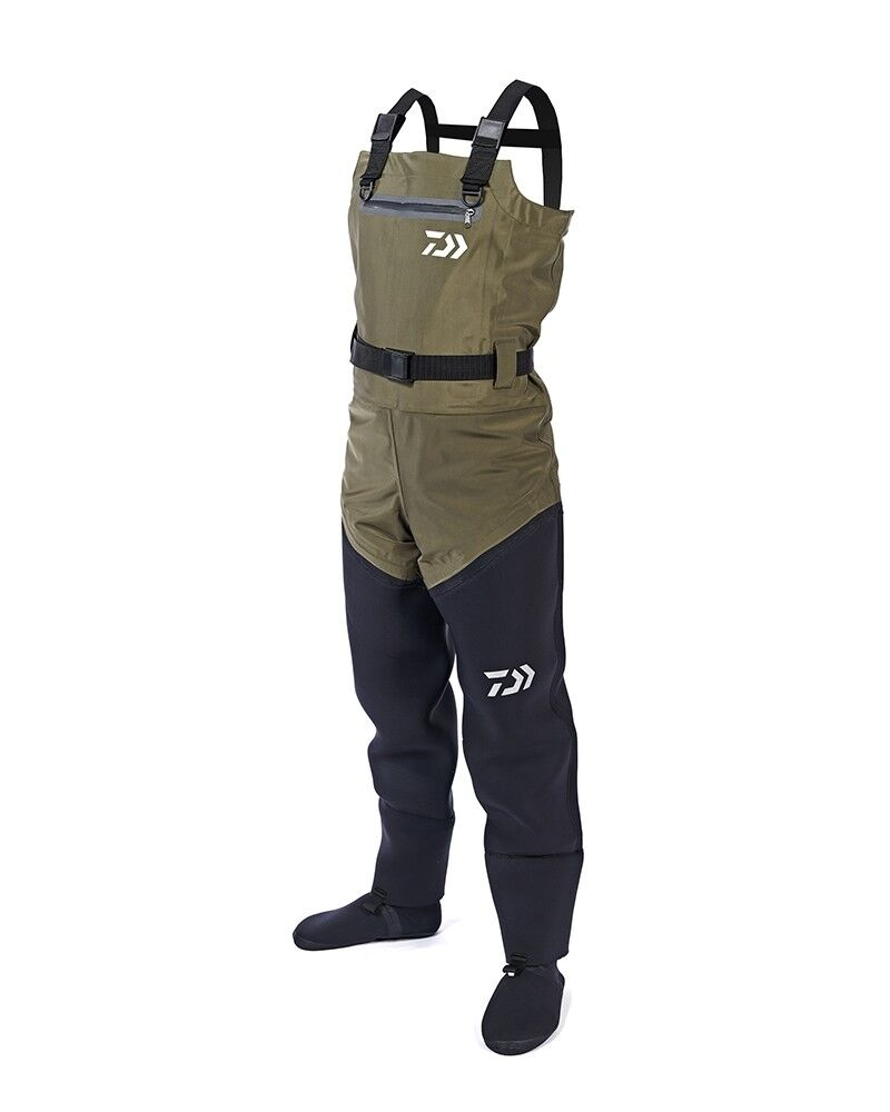 Daiwa Hybrid 4 Stretch Chest Waders All Sizes NEW Fishing Breathable Waders