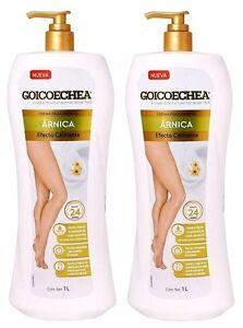 2 Goicoechea Arnica Lotion Legs Cream For Varicose Veins Varices