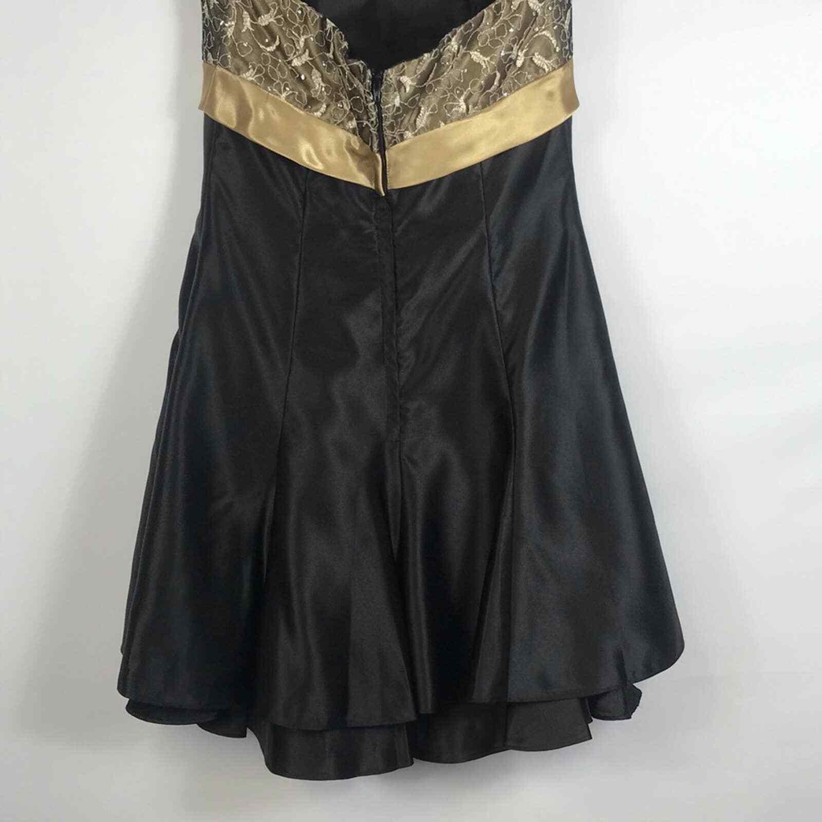 Jessica McClintock Gunne Sax Formal Prom Dress Si… - image 7
