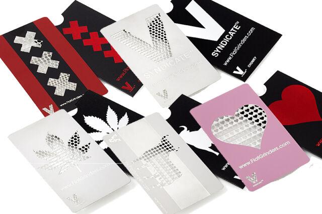Grinder Card V Syndicate Tarjeta Picadora Moledora Varios Modelos Elije la tuya